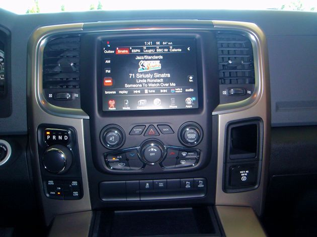 2014 Ram 1500 center stack