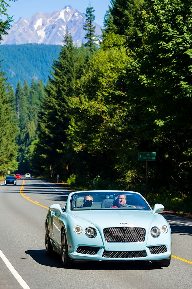 2014 Run to the Sun Part 1 Bentley Continental GT