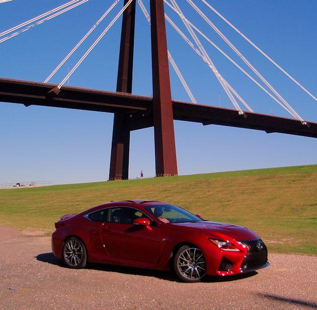 2015 Lexus Rc Suspension: 2015 Lexus RC F Test Drive