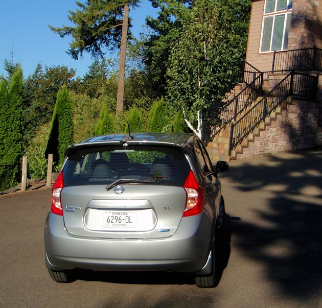 2015 Nissan Versa Note rear2