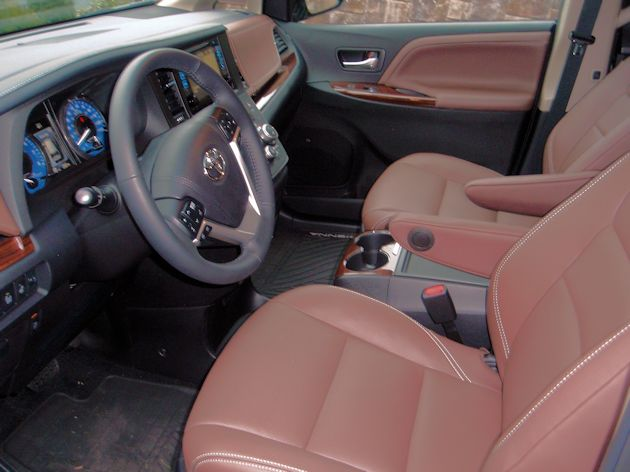 2015 Toyota Sienna Limited Interior