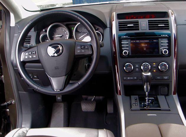 2015 Mazda CX-9 dash
