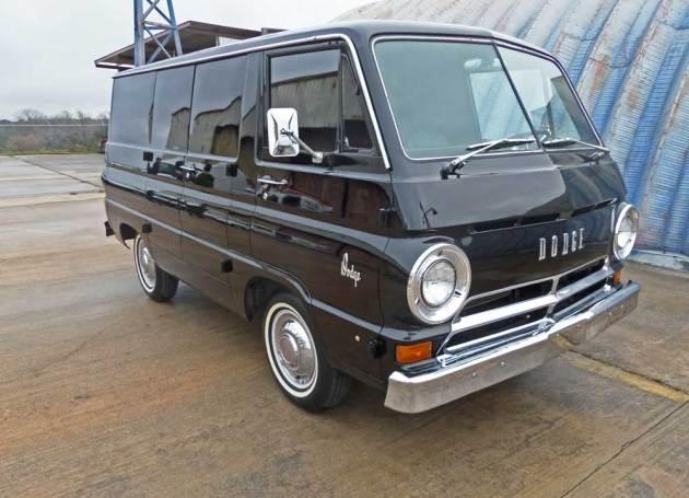 Early-Dodge-Van