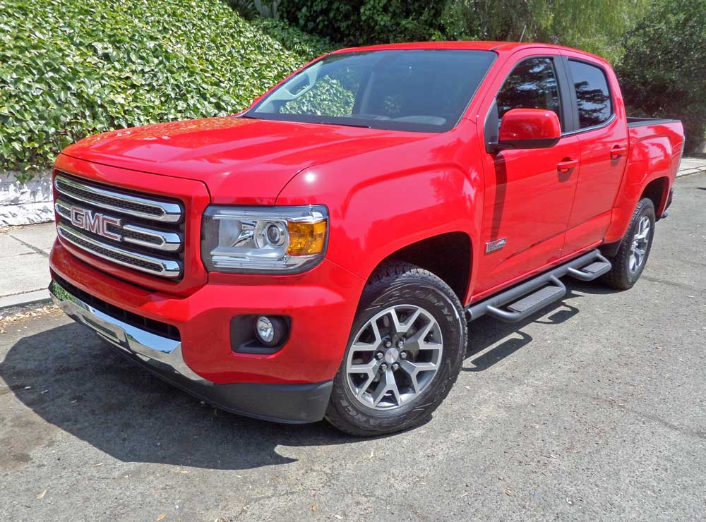 2015 gmc canyon 4wd crew cab short bed all terrain test. Black Bedroom Furniture Sets. Home Design Ideas