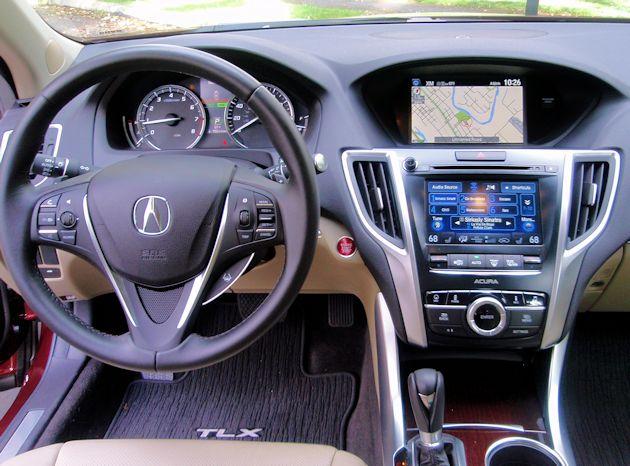 2015 Acura TLX dash