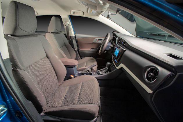 2016 Scion iM interior
