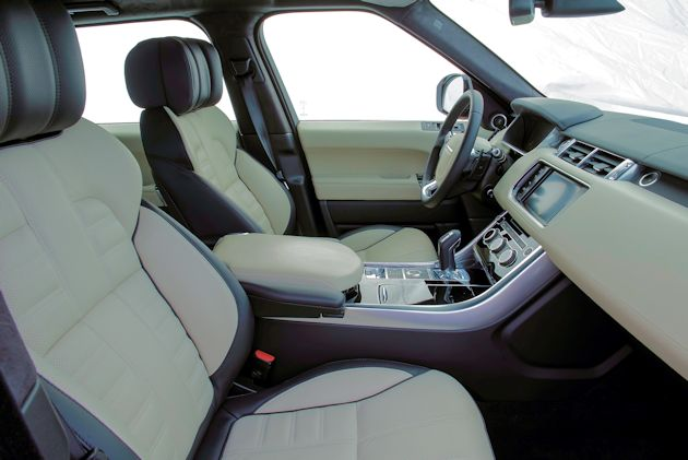 2015  Range Rover Sport interior