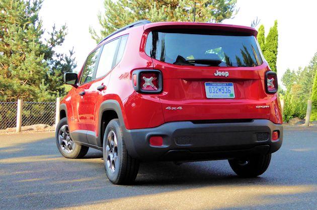 2015 Jeep Renegade rear