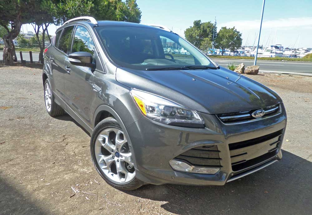 2016 ford escape titanium test drive our auto expert. Black Bedroom Furniture Sets. Home Design Ideas