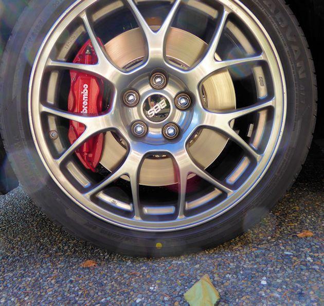 2015 Mitsubishi Lancer EVO wheel