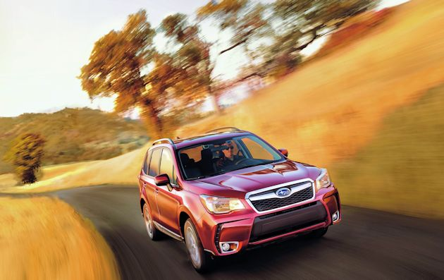 2016 Subaru Forester front