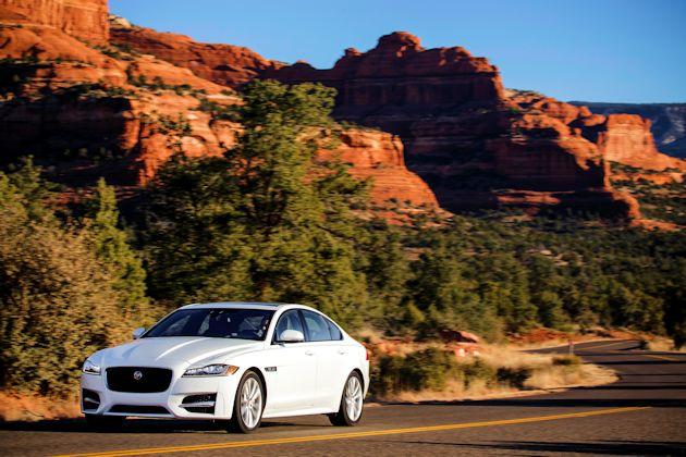 2016 Jaguar XF front q