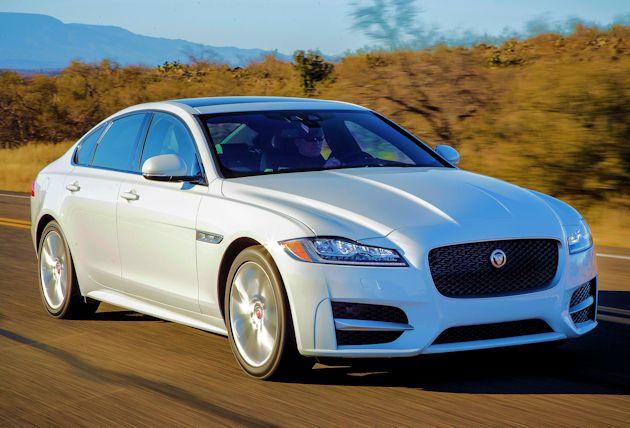 2016 Jaguar XF front