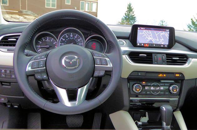 2016 Mazda6i dash