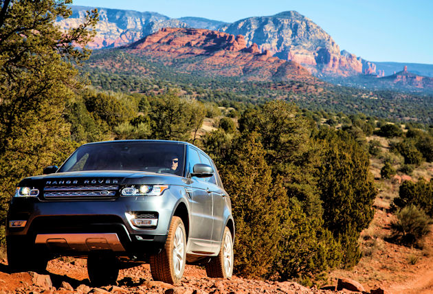 2016 Range Rover Sport - front