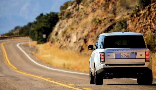 2016 Range Rover - rear