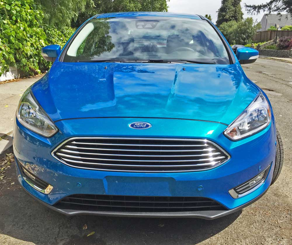 The titanium package sets class standards for design and comfort while all focus models come with ford safety and security features