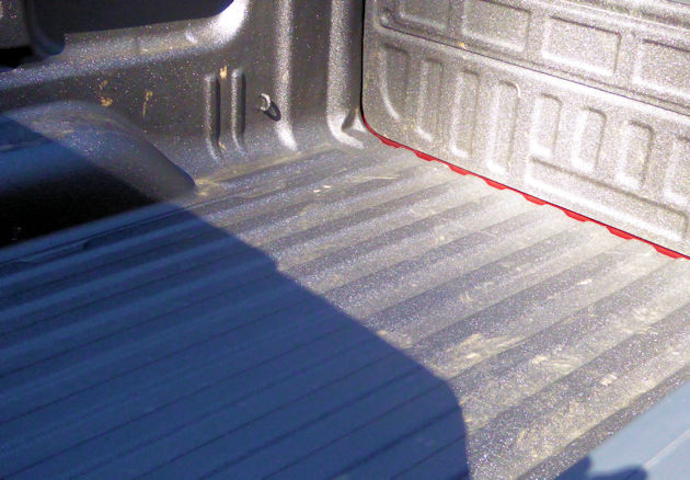 2016 GMC Sierra bed liner