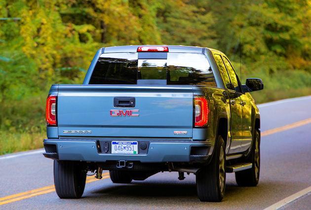 2016 GMC Sierra rear 2