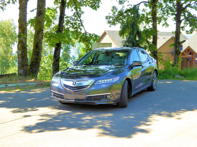 2016 Acura TLX front q
