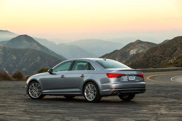 2017 Audi A4 rear q