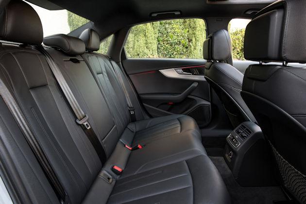 2017 Audi A4 rear seat