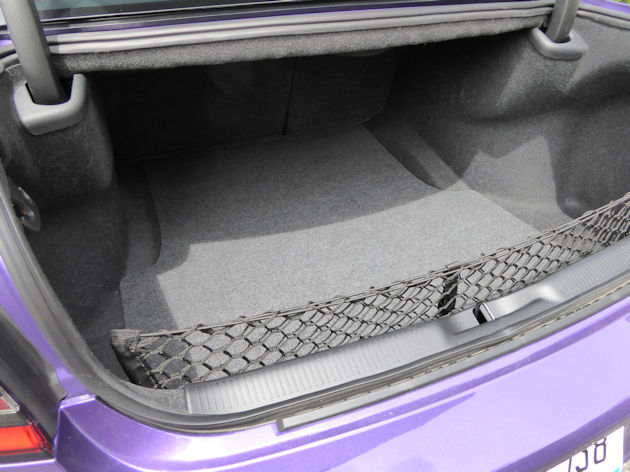 2016 Dodge Charger trunk