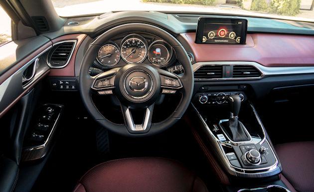 2016 Mazda CX-9 dash
