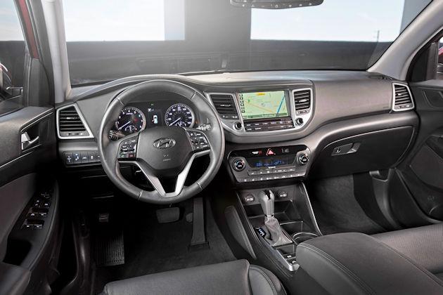 2017 Hyundai Tucson dash