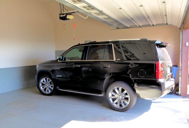 2016-chevrolet-tahoe-in-garage