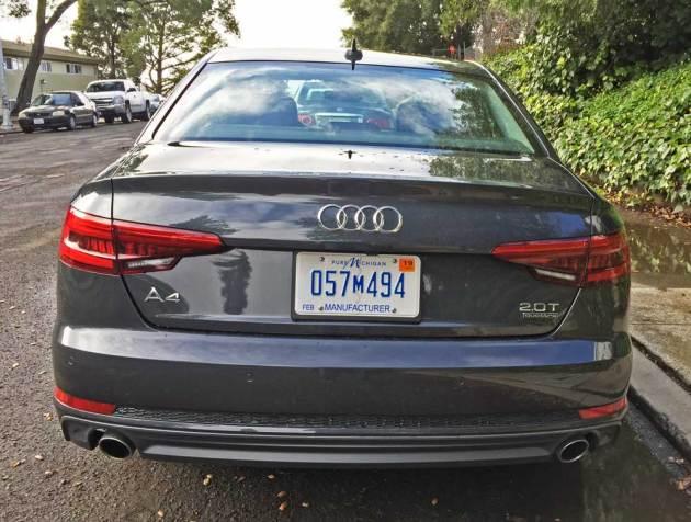 Audi-A4-2.0T-Tail