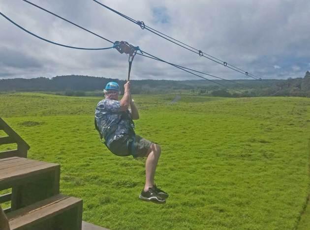 Kona-Ziplining