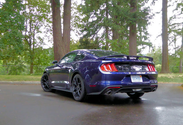 2018 ford mustang ecoboost test drive