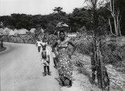 Λιβερία ,Μάρτιος 1961.Μεταξύ των πόλεων Totota και Kokota