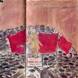εγκαίνια του μνημείου του Ροβεσπιέρου
