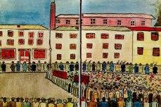 συγκέντρωση σε εργοστάσιο: Ελευθερία του λόγου!