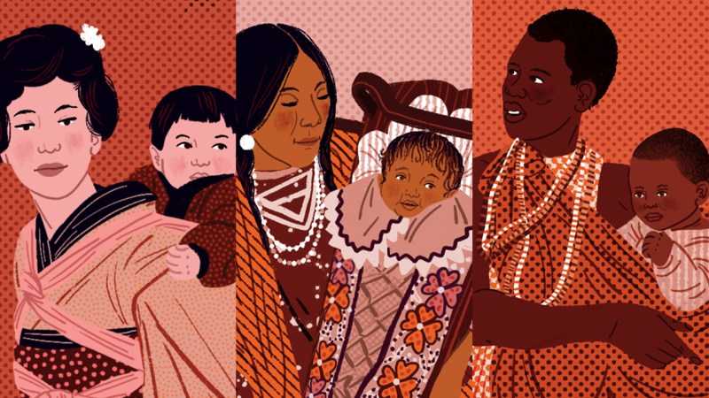 Here's what you should know about babywearing and cultural appropriation