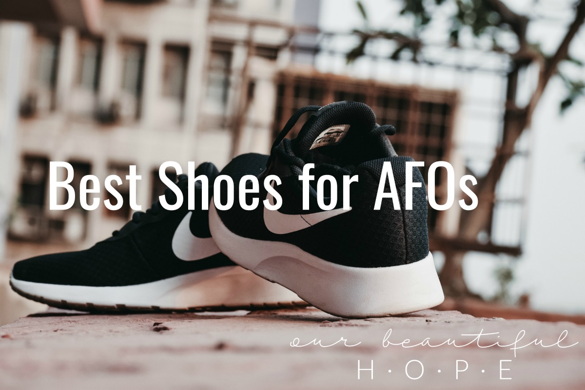best shoes for AFOs, SMOs, DAFOs