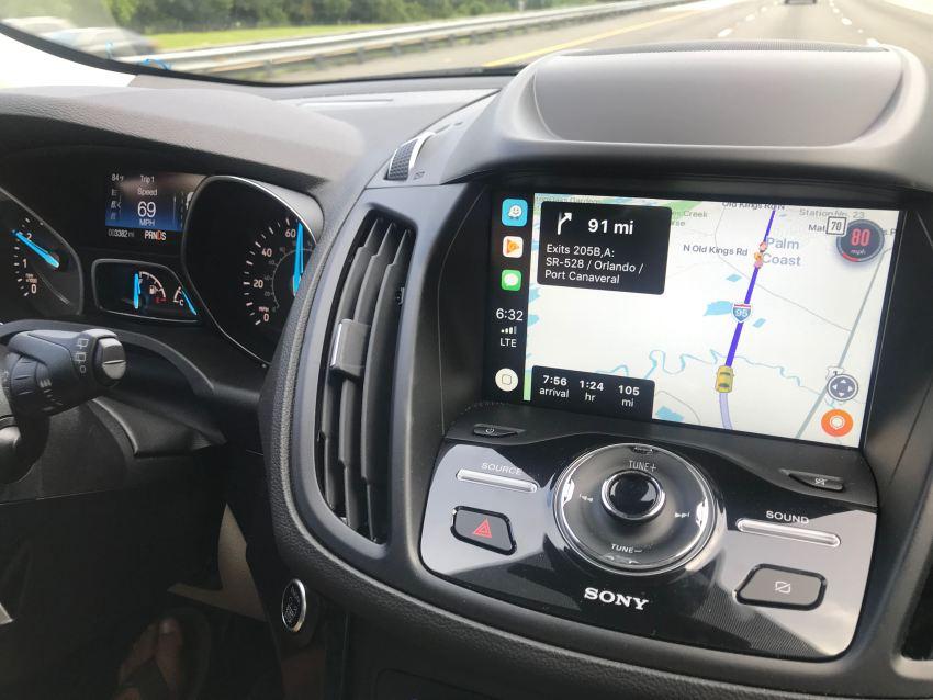 Waze CarPlay Bug