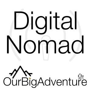Digital Nomad Podcast Logo