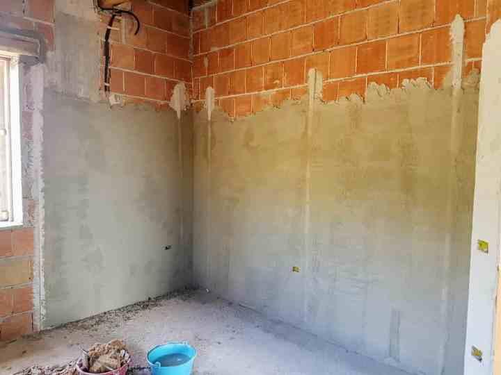 Guest Room Plaster