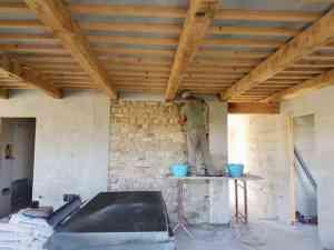 Interior Stone Wall Built