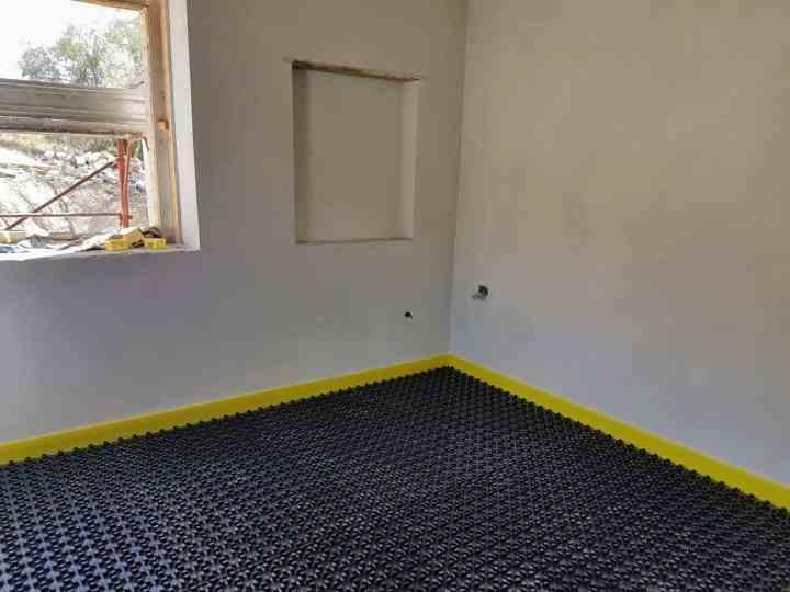 Study with Underfloor Heating Base