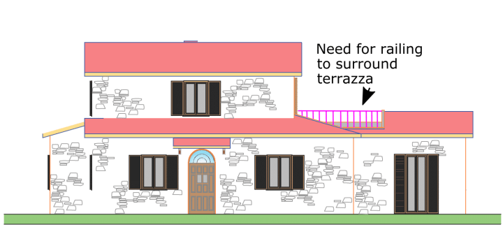 terrazza railing example