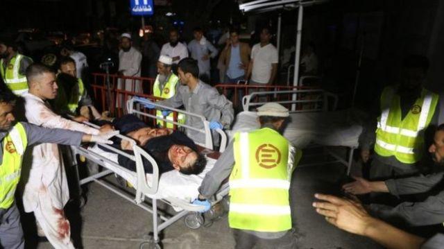 विवाह समारोहमा भएको आत्मघाती बम विस्फोटमा कम्तिमा ६३ जनाको मृत्यु