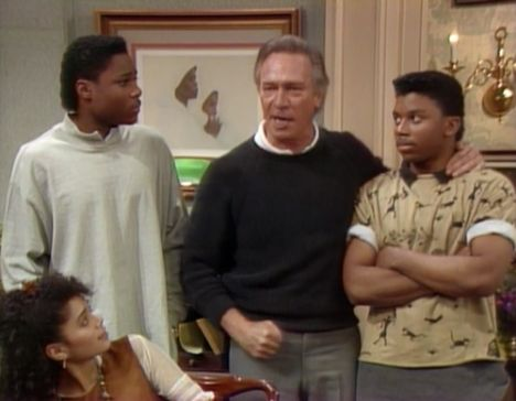 Image result for cosby show christopher plummer