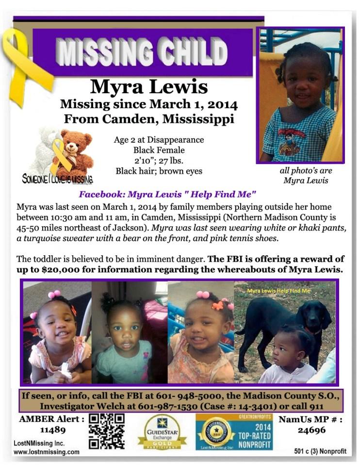 Myra Lewis Missing