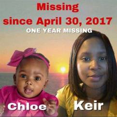 Keir Johnson, Chloe Johnson Missing