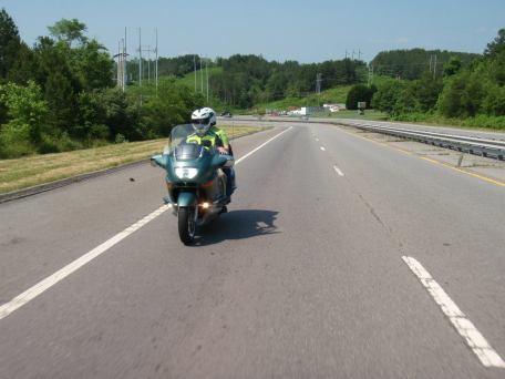 North of Copperhill, TN headed for Tellico Plains, TN.