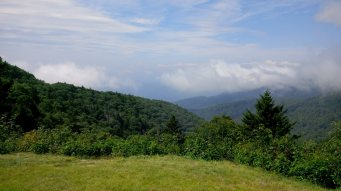 A view from the Blue Ridge Parkway.